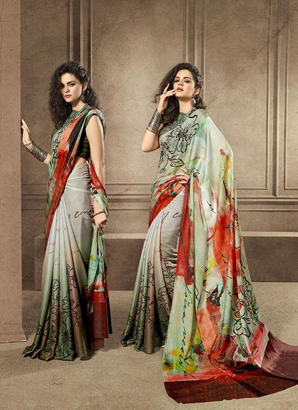 Sareetag Wonderful Designer Digital Printed Signature Saree Collection