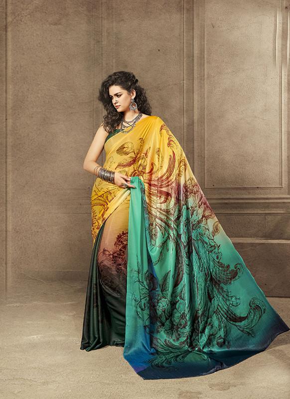 Sareetag Pretty Designer Digital Printed Signature Saree Collection