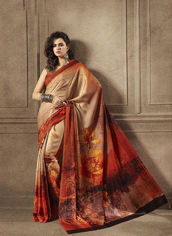 Sareetag Attractive Designer Digital Printed Signature Saree Collection