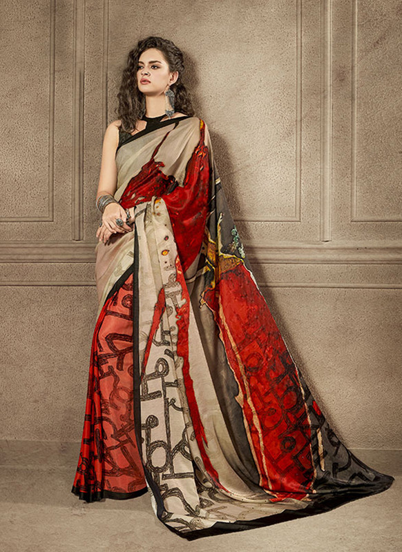 Sareetag Charming Designer Digital Printed Signature Saree Collection