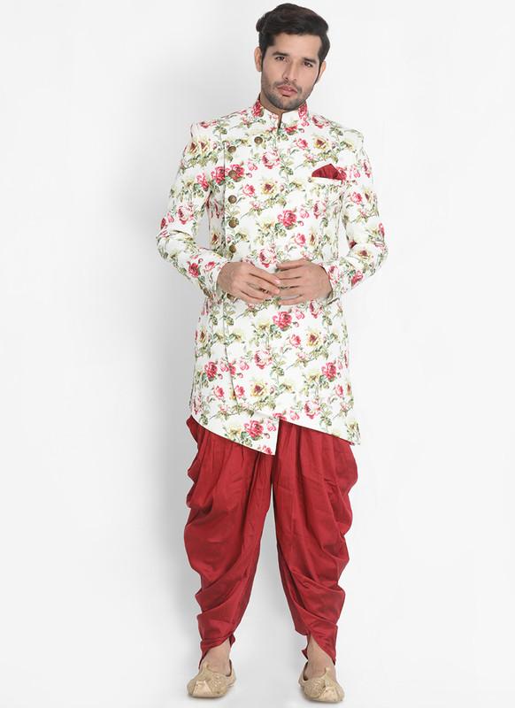 Sareetag Multi  Readymade Designer Sherwani