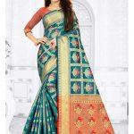 Sareetag Maroon  Designer Party Wear Satin Silk Saree