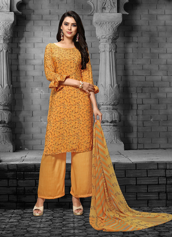 Sareetag Musterd  Designer Party Wear Salwar Suit