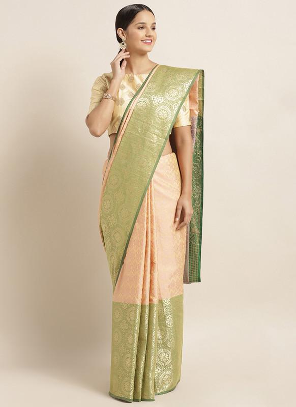 Sareetag Green  Designer Classic Party Wear Saree