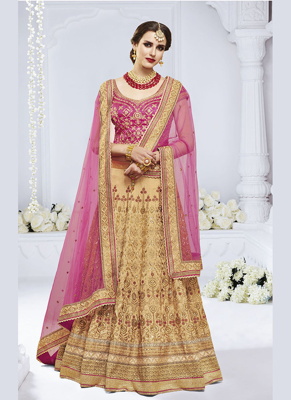 Sareetag Chiku  Heavy Designer Weadding Wear Bridal Lehenga Choli