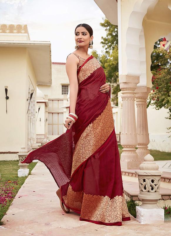Sareetag Green  Designer Classic Wear Cotton Saree