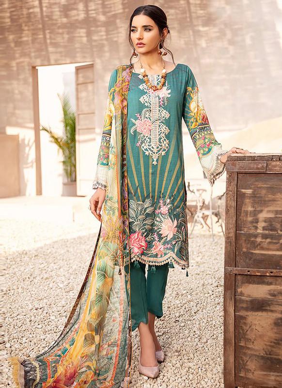 Sareetag Green Designer Pakistani Style Salwar Suit