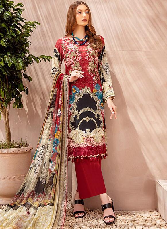 Sareetag Maroon Designer Pakistani Style Salwar Suit
