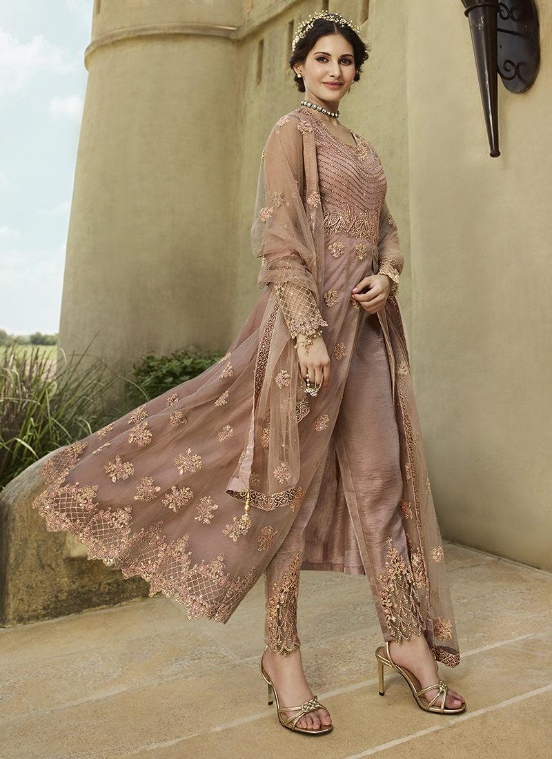 Glossy Amyra Shaivi Mesmarise Designer Wedding Wear Suit