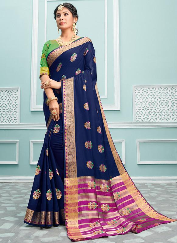 Sareetag Sangam Palak Beautiful Wedding Saree