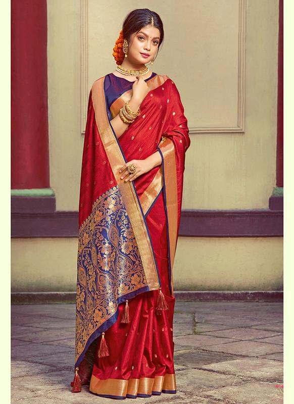 Sareetag Sangam Roop Sundari Pretty Wedding Saree