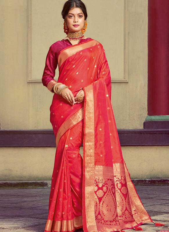 Sareetag Sangam Roop Sundari Elegent Wedding Saree