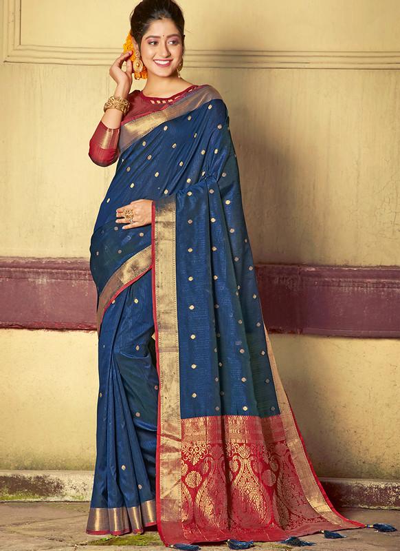 Sareetag Sangam Roop Sundari Smashing Wedding Saree